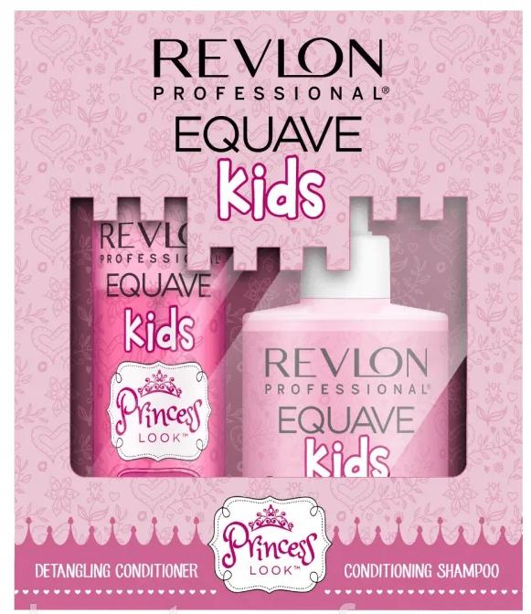 Set - Revlon Professional Equave Kids Princess Duo Pack (shm/300ml + cond/200ml) — Imagine N1