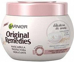 Parfumuri și produse cosmetice Mască hidratantă cu lapte de ovăz pentru păr - Garnier Original Remedies Protective Hydrating Mask