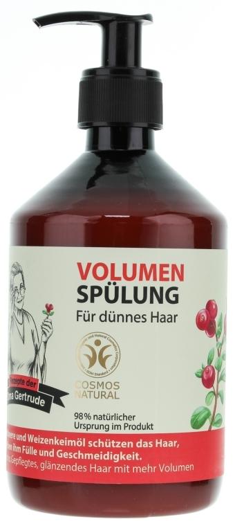 Balsam pentru volumul părului - Oma Gertrude — Imagine N1