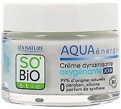Cremă de față - So'Bio Etic Aqua Energie Dynamizing Oxygenating Day Cream — Imagine N2