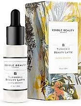 Parfumuri și produse cosmetice Ser cu efect de calmare și luminare - Edible Beauty Turmeric Beauty Latte Serum
