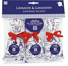 "Parfumuri și produse cosmetice Săpun ""Lavandă"" - Le Chatelard 1802 Paris Lavander (pouch 3x18g)"