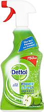 Parfumuri și produse cosmetice Spray antibacterian - Dettol Trigger Power & Fresh Refreshing Green Apple
