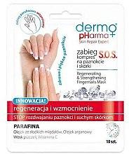 Parfumuri și produse cosmetice Mască-compres regeneratoare pentru unghii - Dermo Pharma Skin Repair Expert S.O.S. Regenerating& Strengthening Fingernails Mask