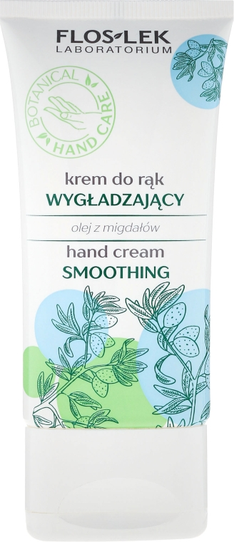 """Cremă anti-îmbătrânire pentru mâini """"Ulei de migdale"""" - Floslek Smoothing Hand Cream — Imagine N1"""