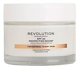 Parfumuri și produse cosmetice Cremă hidratantă pentru ten uscat - Revolution Skincare Protecting Boost SPF30
