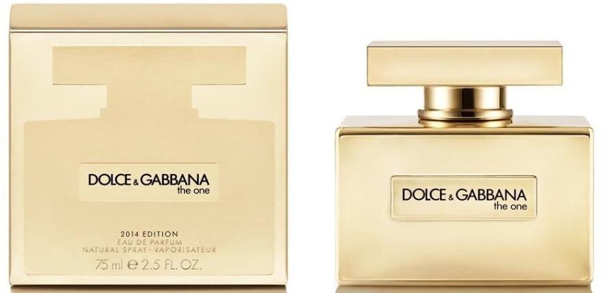 Dolce & Gabbana The One Gold Limited Edition - Apă de parfum — Imagine N4