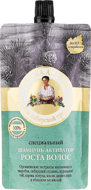 Șampon activator pentru creșterea părului - Rețete bunicii Agafia