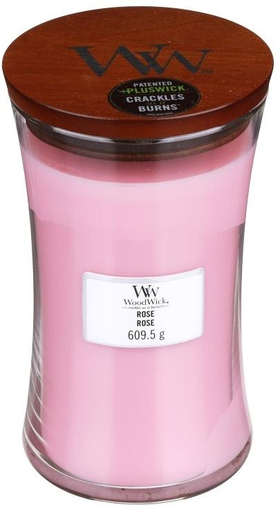 Lumânare aromată - WoodWick Hourglass Candle Rose — Imagine N2