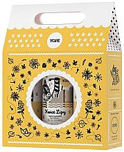 Parfumuri și produse cosmetice Zestaw - Yope Kwiat lipy (soap 500 ml + sh/gel 400 ml + balm 300 ml)