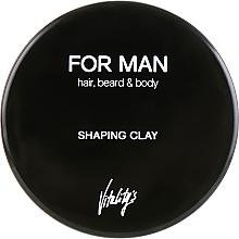 Parfumuri și produse cosmetice Argilă modelatoare pentru păr - Vitality's For Man Shaping Clay