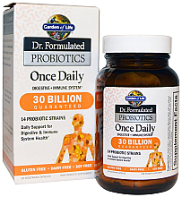 Parfumuri și produse cosmetice Probiotice, capsule - Garden of Life Dr. Formulated Probiotics Once Daily