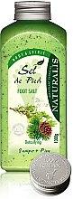 Parfumuri și produse cosmetice Sare de baie pentru picioare - Naturalis Sel de Pied Juniper And Pine Foot Salt
