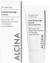 Parfumuri și produse cosmetice Cremă autobronzantă pentru față - Alcina B Self-Tanning Cream