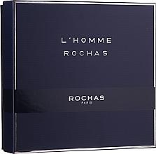 Parfumuri și produse cosmetice Rochas L'Homme Rochas - Set (edt/100ml + sh/gel/100 + ash/b/100ml)
