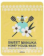 Parfumuri și produse cosmetice Mască de țesut pentru față - A'pieu Sweet Manuka Honey House Mask