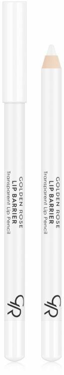 Creion contur de buze nude - Golden Rose Lip Barrier Transparent Lip Pencil