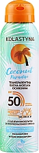 Parfumuri și produse cosmetice Spray uscat transparent de protecție pentru față și corp - Kolastyna Coconut Paradise SPF50