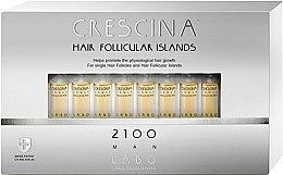 Parfumuri și produse cosmetice Loțiune pentru stimularea creșterii părului, pentru bărbați, 2100 - Labo Crescina Hair Follicular Island 2100 Man