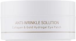 Parfumuri și produse cosmetice Patch-uri de hidrogel pe bază de colagen și aur coloidal, dimensiune standard - BeauuGreen Collagen & Gold Hydrogel Eye Patch