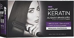 Parfumuri și produse cosmetice Set - Kativa Keratin (shm/35ml + cond/35ml + mask/100ml)