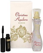 Parfumuri și produse cosmetice Christina Aguilera Woman - Set (edp/30ml + mascara/5.3ml)