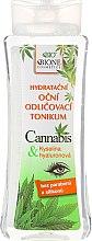 """Parfumuri și produse cosmetice Tonic relaxant și regenerant pentru zona oculară """"Cânepă"""" - Bione Cosmetics Cannabis Eyes Tonic"""