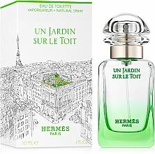 Hermes Un Jardin sur le Toit - Apă de toaletă — Imagine N2
