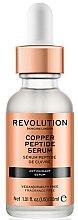 Parfumuri și produse cosmetice Ser antioxidant pentru față - Revolution Skincare Copper Peptide Serum
