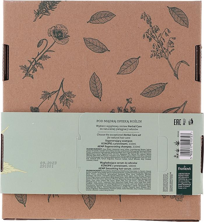 Set - Farmona Herbal Care (h/shm/330ml + h/ser/100ml) — Imagine N2