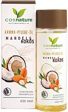 """Parfumuri și produse cosmetice Unt de corp """"Migdale și nucă de cocos"""" - Cosnature Aromatherapy Body Oil Almond & Coconut"""