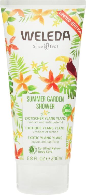 "Gel de duș ""Grădina de vară"" - Weleda Summer Garden Shower Exotic Ylang Ylang — Imagine N1"