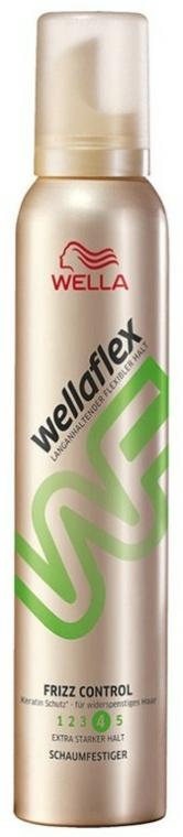 Spumă de păr - Wella Wellaflex Frizz Control Mousse — Imagine N1