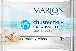 """Șervețele răcoritoare """"Sea Breeze"""", 15buc - Marion — Imagine N1"""
