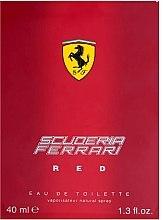 Ferrari Scuderia Ferrari Red - Apă de toaletă — Imagine N2