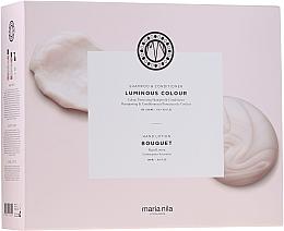 Parfumuri și produse cosmetice Set - Maria Nila Luminous Colour Gift Set (h/shm/350ml + h/cond/300ml + h/soap/300ml)