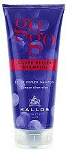 Parfumuri și produse cosmetice Șampon pentru păr cărunt - Kallos Cosmetics Gogo Silver Reflex Shampoo
