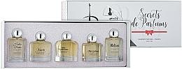 Parfumuri și produse cosmetice Charrier Parfums Secrets De Parfums - Set (edp/9.9ml+edp/10.5ml+edp/9.9ml+edp/9.9ml+edp/9.8ml)