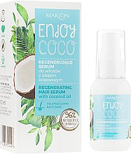 Parfumuri și produse cosmetice Ser cu apă de cocos pentru păr - Marion Enjoy Coco Serum