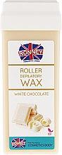 """Parfumuri și produse cosmetice Ceară depilatoare, cartuș """"Ciocolată albă"""" - Ronney Professional Wax Cartridge White Chocolate"""