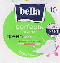 Parfumuri și produse cosmetice Absorbante Perfecta Green Drai Ultra, 10buc - Bella