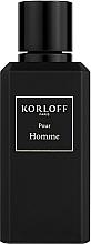 Parfumuri și produse cosmetice Korloff Paris Pour Homme - Apă de parfum