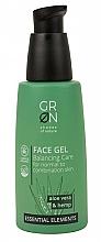 Parfumuri și produse cosmetice Gel de față - GRN Essential Elements Aloe Vera & Hemp Face Gel