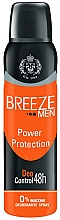 Parfumuri și produse cosmetice Deodorant-spray - Breeze Men Power Protection Deo Control 48H