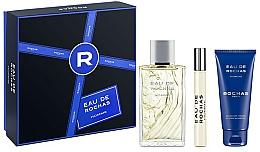 Parfumuri și produse cosmetice Rochas Eau de Rochas Homme - Set (edt/100ml + sh/gel/100ml + edt/20ml)
