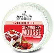 Parfumuri și produse cosmetice Ulei pentru mâini și picioare - Hristina Stani Chef's Hand And Foot Butter Strawberry Mousse