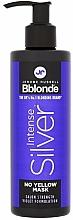 Parfumuri și produse cosmetice Mască pentru păr blond, gri și decolorat - Jerome Russell Bblonde Intense Silver No Yellow Mask