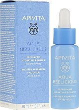 Booster revigorant și hidratant - Apivita Aqua Beelicious Refreshing Hydrating Booster With Flowers — Imagine N1