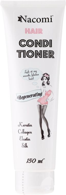 Balsam hidratant de păr - Nacomi Regenerating Conditioner