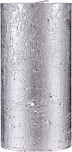 Parfumuri și produse cosmetice Lumânare naturală, 15 cm - Ringa Silver Glow Candle